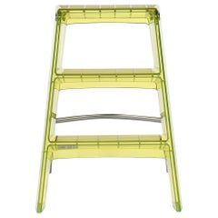 Kartell Upper Step Ladder in Citron in Yellow by Alberto Meda & Paolo Rizzatto