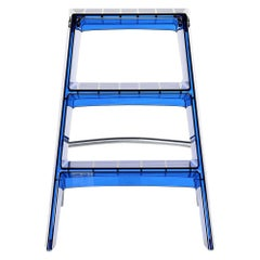Kartell Upper Step Ladder in Cobalt by Alberto Meda, Paolo Rizzatto