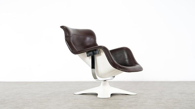Karusselli Lounge Chair, Designed in 1964 by Yrjö Kukkapuro for Artek, Finland For Sale 4