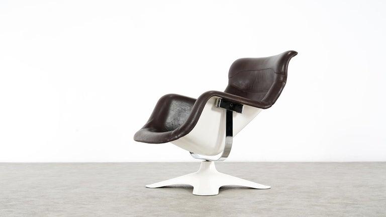 Mid-Century Modern Karusselli Lounge Chair, Designed in 1964 by Yrjö Kukkapuro for Artek, Finland For Sale