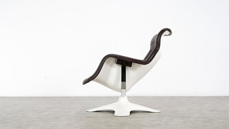 Hand-Crafted Karusselli Lounge Chair, Designed in 1964 by Yrjö Kukkapuro for Artek, Finland For Sale