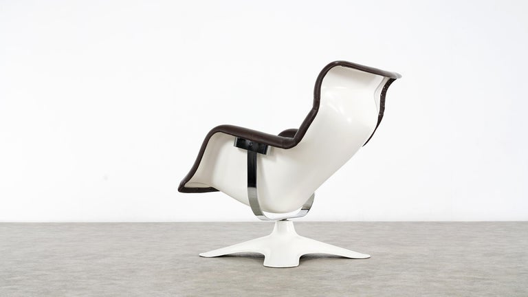 Karusselli Lounge Chair, Designed in 1964 by Yrjö Kukkapuro for Artek, Finland In Good Condition For Sale In Munster, NRW