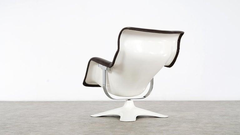 Mid-20th Century Karusselli Lounge Chair, Designed in 1964 by Yrjö Kukkapuro for Artek, Finland For Sale