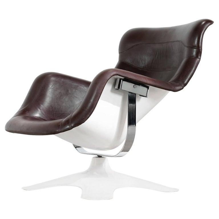 Karusselli Lounge Chair, Designed in 1964 by Yrjö Kukkapuro for Artek, Finland For Sale