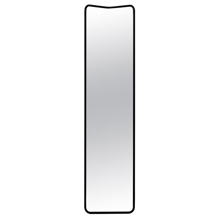 Kaschkasch Floor Mirror by Kaschkasch Cologne, Black Frame For Sale