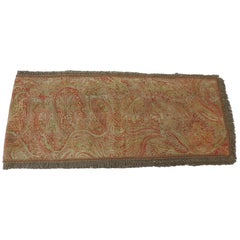Kashmir Paisley Red and Orange Table Runner