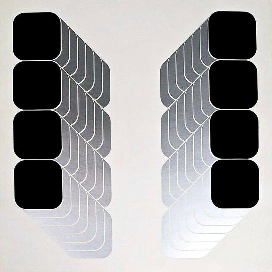 Lenk Series B, Limited Edition Silkscreen, Thomas Lenk