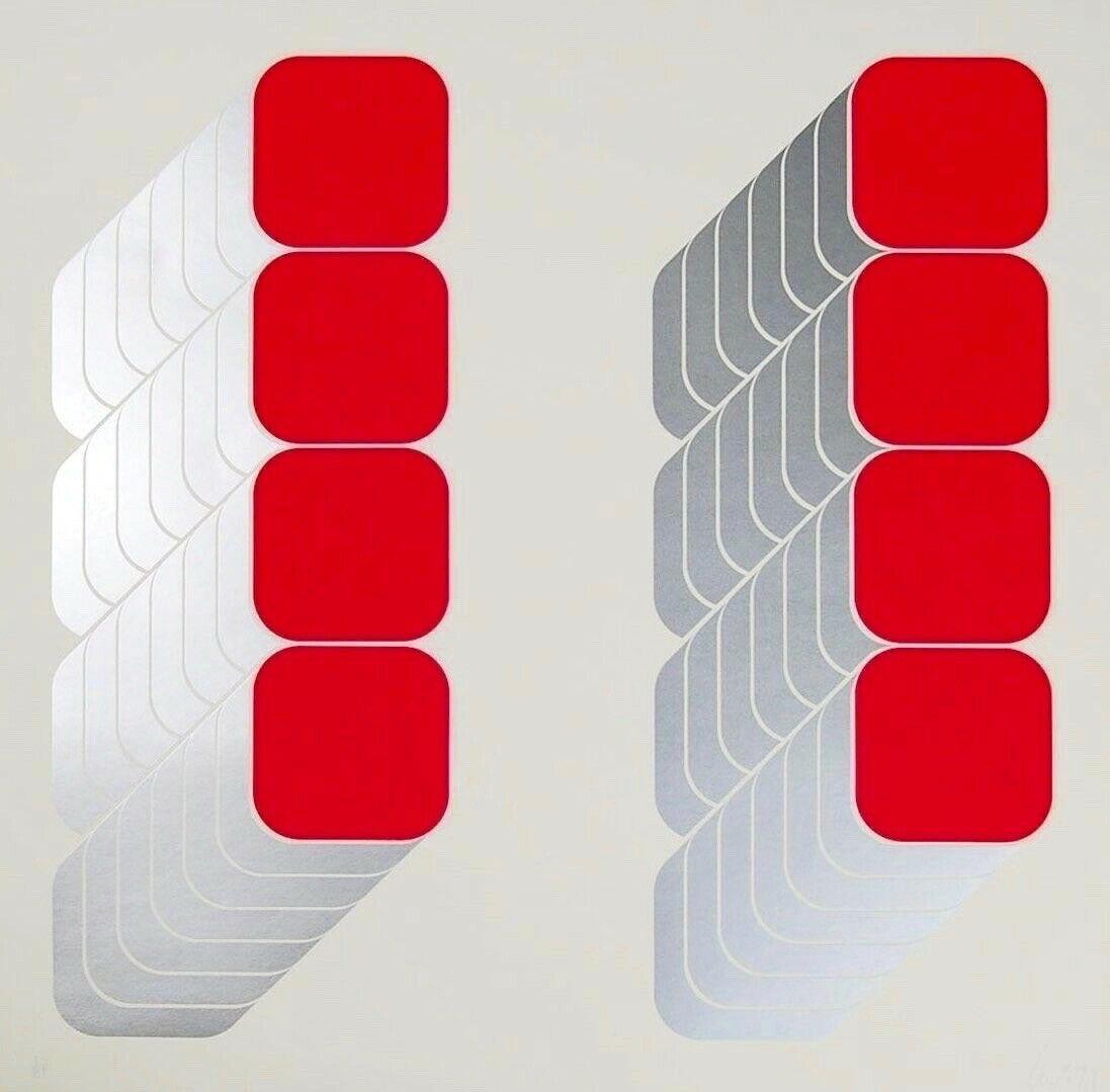 Lenk Series C, Limited Edition Silkscreen, Thomas Lenk