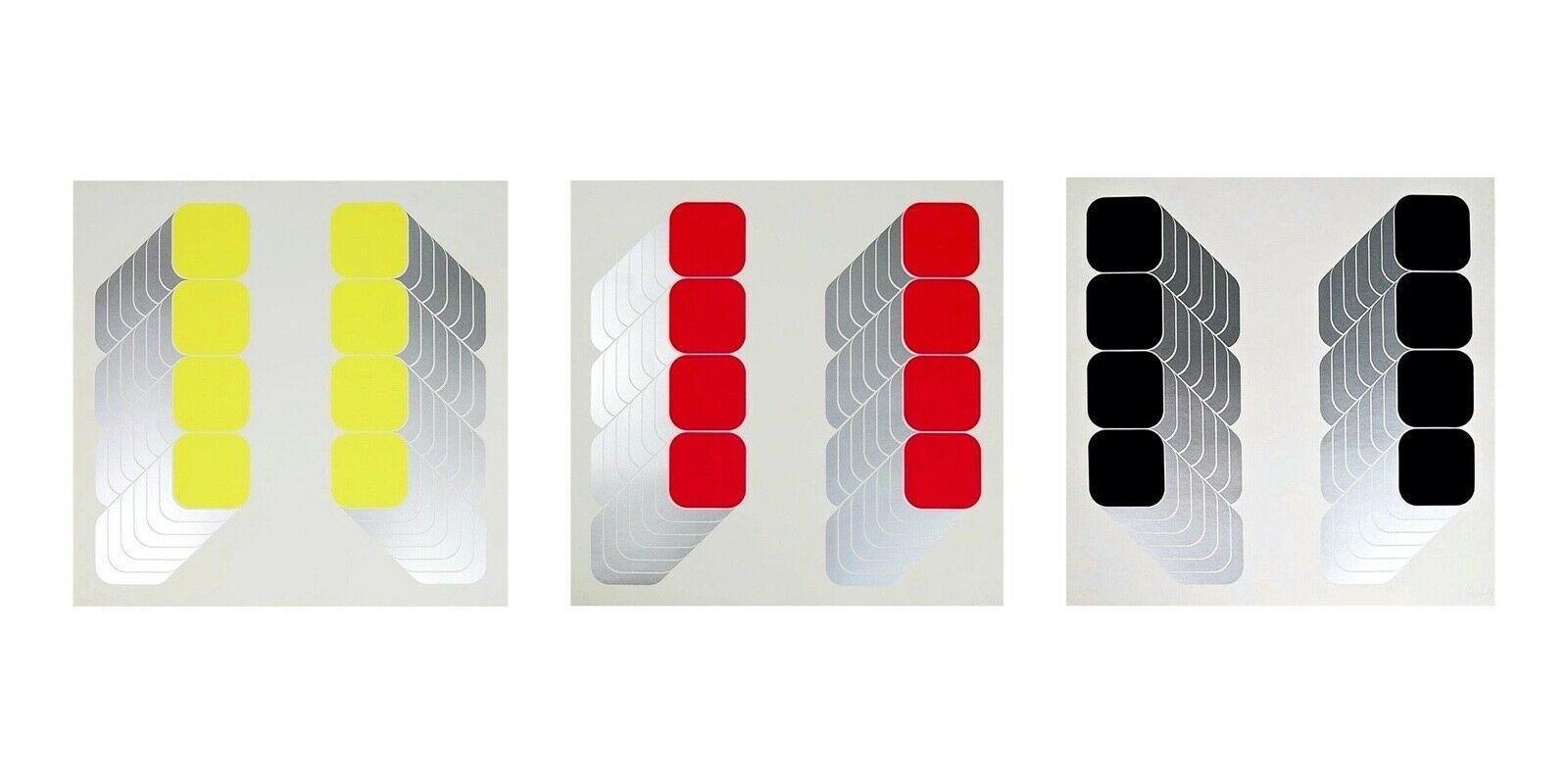 Lenk Series I, II & III Triptych (three artworks)