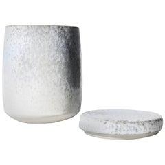 Kasper Würtz Large Lidded Jar in Silver Glaze