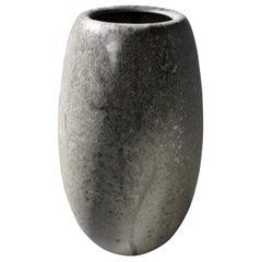 Kasper Würtz Large Ovoid Vase in Granite Glaze