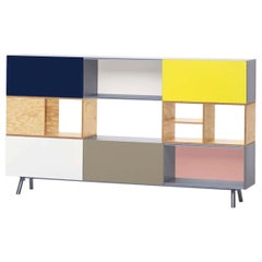 Kast 3 High Storage Unit, by Vitra