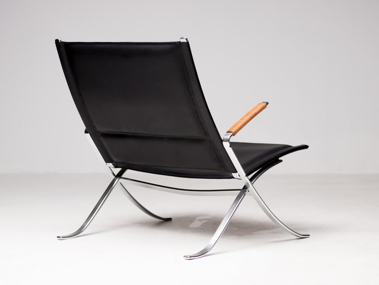 Danish Kastholm and Fabricius FK82 Lounge Chair For Sale