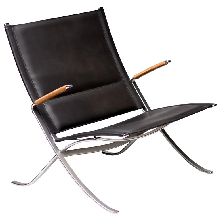 Kastholm and Fabricius FK82 Lounge Chair For Sale