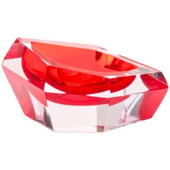 Kastle Mini Bowl in Murano Glass by Karim Rashid for Purho murano