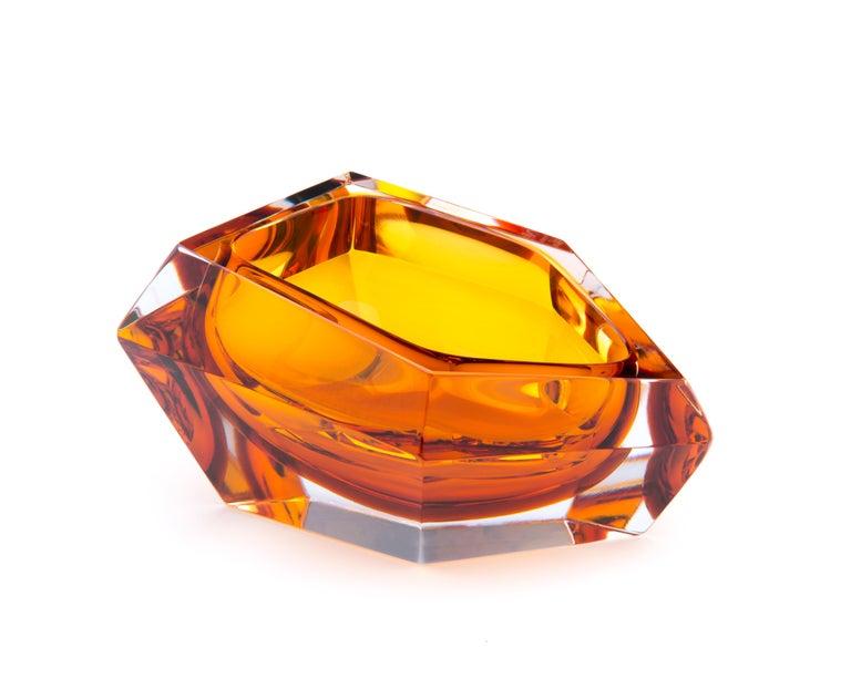 Modern 21st Century Karim Rashid Small Bowl Murano Glass Various Colors For Sale