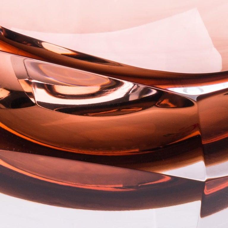 Italian 21st Century Karim Rashid Small Bowl Murano Glass Various Colors For Sale