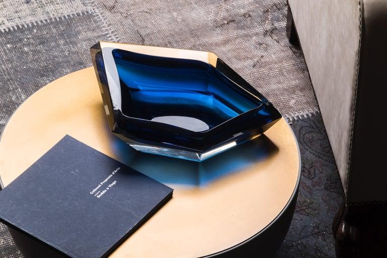 21st Century Karim Rashid Small Bowl Murano Glass Various Colors In New Condition For Sale In Brembate di Sopra (BG), IT