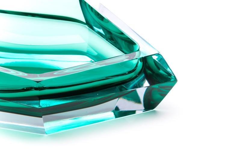 21st Century Karim Rashid Small Bowl Murano Glass Various Colors For Sale 2