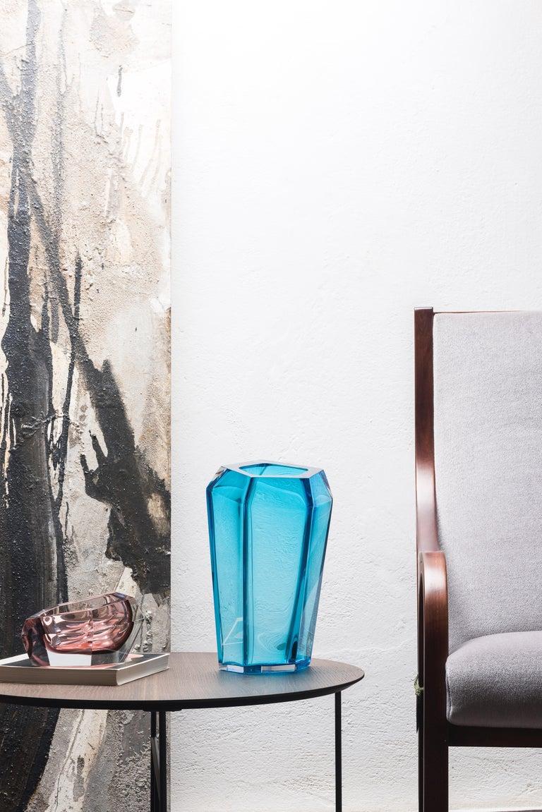 Contemporary 21st Century Karim Rashid Vase Murano Glass Various Colors For Sale