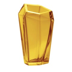 Kastle Yellow Extra Large Vase by Karim Rashid