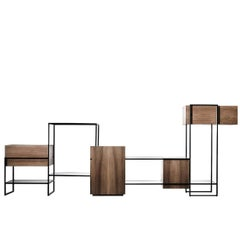 Katai Living Room Cabinet by Giacomo Moor