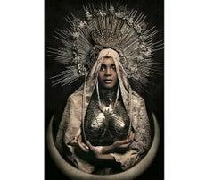 Black Madonna - Contemporary Photography, Portrait