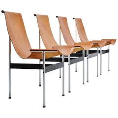 Katavolos, Kelley and Littell T-Chairs ICF De Padova, Italy, 1952