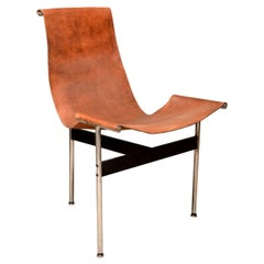 "Katavolos Leather Sling ""T"" Chair"