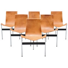 Katavolos Littell Kelly T-Chairs Set for ICF De Padova, 1964