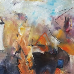 The Listening Land:  Contemporary Abstract Oil Painting