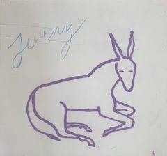 Jeremy, Kate Boxer, Animal Print, Limited Edition Print, Affordable Art