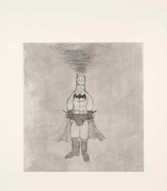 Kate Boxer, Batman, Contemporary Art, Affordable Art, Limited Edition Print