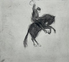 Kate Boxer, Bucking Bronco, Contemporary Art, Horse Art, Limited Edition Print