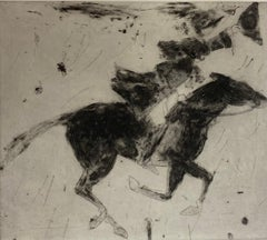 Kate Boxer, Dick Turpin Leaving For York, Contemporary Limited Edition Print