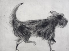 Kate Boxer, Fig, Contemporary Art, Dog Art, Limited Edition Print, Art Online