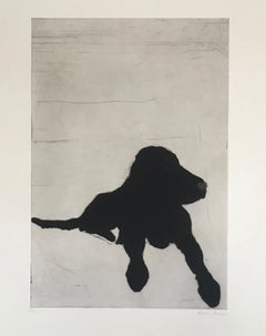 Kate Boxer, Lenny, Contemporary Art, Limited edition Print, Dog Art