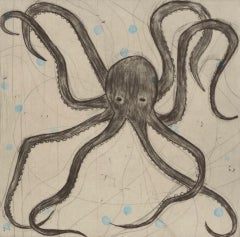 Kate Boxer, Octopus, Contemporary Art, Affordable Art, Art Online, Animal Art