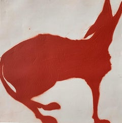 Kate Boxer, Red Wolf, Contemporary Art, Animal Art, Limited Edition Print