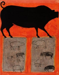 Kate Boxer, To all the Pigs I have Eaten, Contemporary Art, Affordable Art