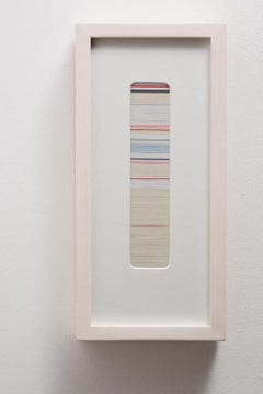 Kate Carr, Thread Drawing 2, abstract multimedia textile sculpture, 2009