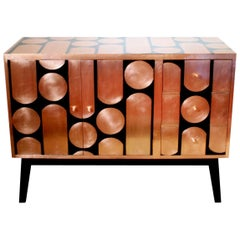 Kate Noakes 'Button-Up' Sideboard in Copper