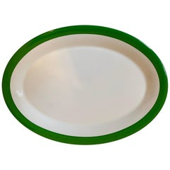 Kate Spade New York Lenox Rutherford Circle Green Oval Serving Platter