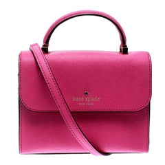 Kate Spade Pink Leather Mini Nora Top Handle Bag