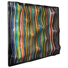 "Katerpillar Missoni ""Barcode"" Collection, Linear Glass Wall Lamp"