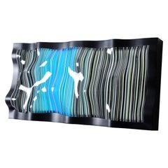 Katerpillar Wall Lamp Linear Multicolored Glass Medium