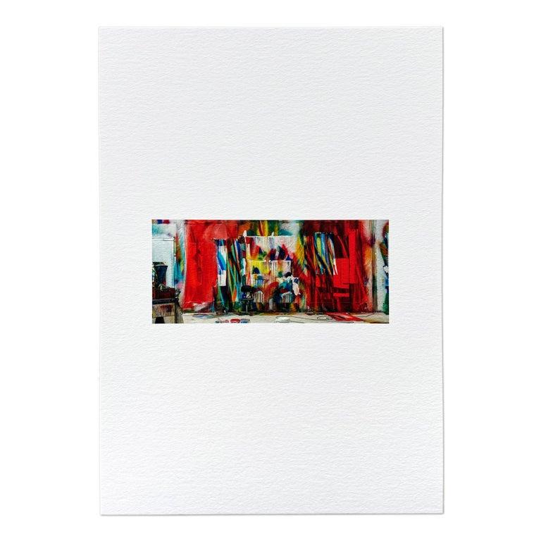 Katharina Grosse Interior Print - Der Stuhl, Contemporary Art, Abstract Art, 21st Century