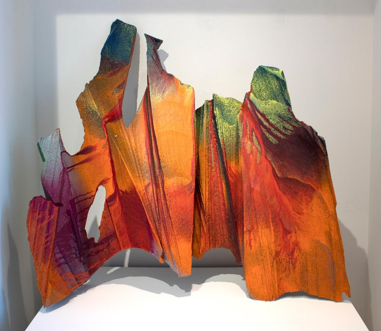 Katharina Grosse Abstract Sculpture - Untitled 2015