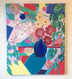Love Life by Katharina Husslein - Contemporary Pop Art Still Life painting