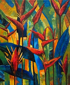 Nature's Beauty by Katharina Husslein - Crops growing Impressionist Nature